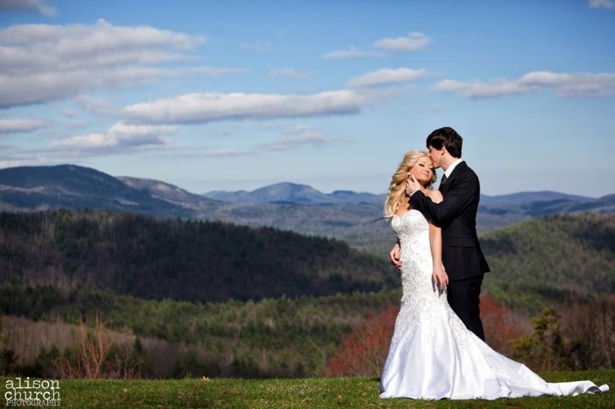 Blue ridge wedding